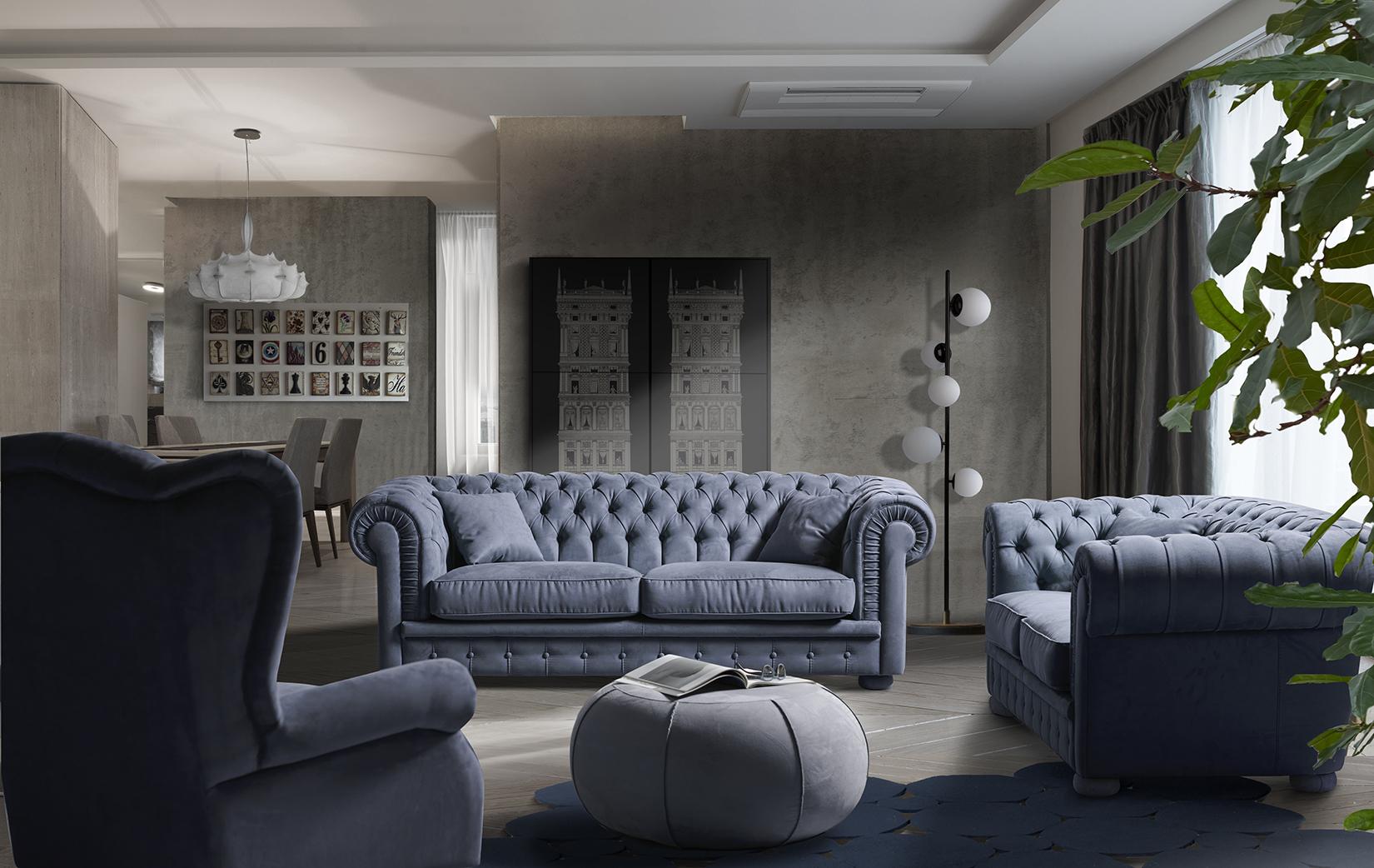 Il Grande classico di Artsofà. Disponibile in pelle e oltre 300 varianti di colore di tessuto, rappresenta il divano per eccellenza ideale per ambienti da sogno. I piedi di serie sono sempre dello stesso rivestimento del divano. Disponibili anche piedi in legno della stessa forma vedi colori e finiture