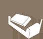 Letto optional con letto a 3 pieghe